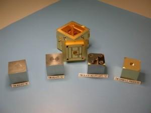 Elementy instrumentu TLP sondy LISA Pathfinder