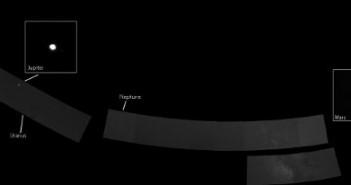 Portret Układu Słonecznego wykonany w listopadzie 2010r. przez sondę Messenger (NASA)