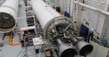 Dwa silniki AJ26 pierwszego stopnia rakiety Antares / Credits - NASA, Orbital