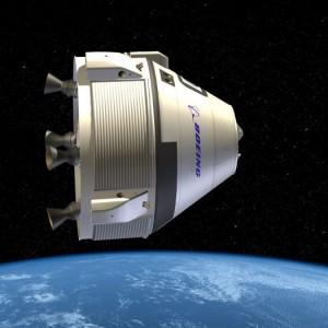 Kapsuła CST-100 - wizualizacja / Credits: Boeing