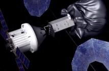 Przechwycenie małej planetoidy - misja załogowa / Credits - NASA