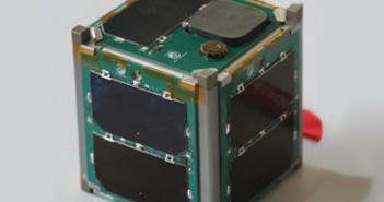 Model satelity typu CubeSat 1 U / Credits - Vermont Technical College