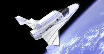 Wizja artystyczna samolotu suborbitalnego Lynx / Credits: XCOR