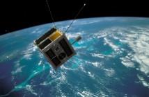 Wizualizacja satelity Heweliusz / Credits: CAMK, CBK