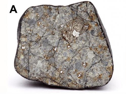 Wnętrze meteorytu czelabińskiego / Credits - Science/AAAS