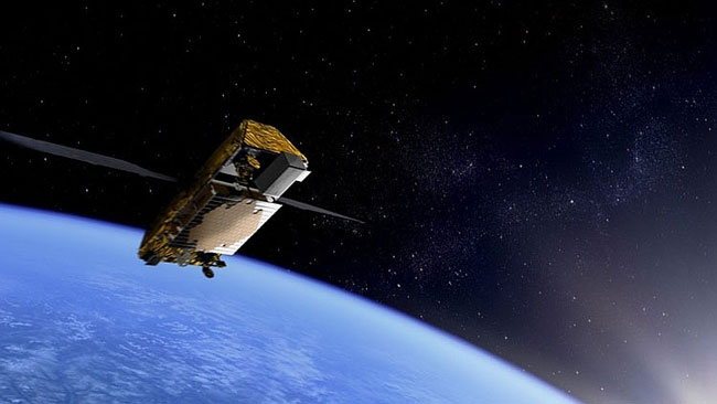 Satelita serii Iridium NEXT / Credits - Thales Alenia Space