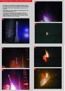 Kadry z 22 sekundowego lotu rakiety Chang Zheng 3B z satelitą Intelsat 708 / domena publiczna