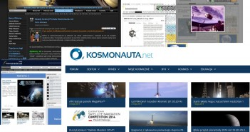Our website since 2009 / Credits - Kosmonauta.net