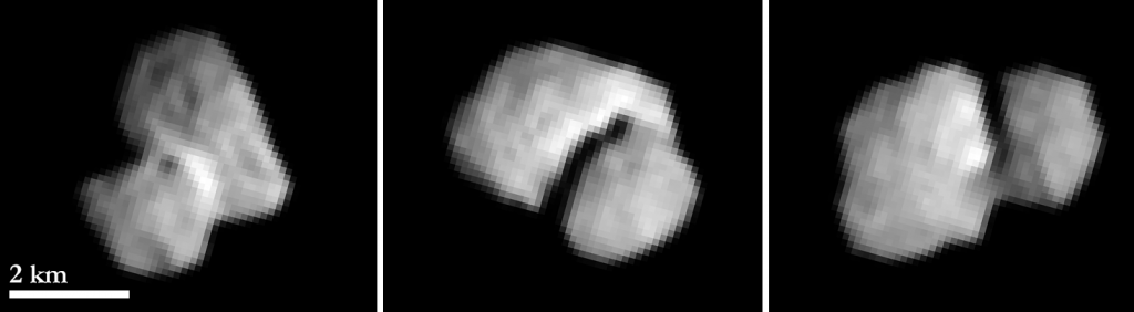 Kometa 67P widziana przez sondę Rosetta z odległości 5500 km, 20 lipca 2014 / Credit: ESA/Rosetta/MPS for OSIRIS Team MPS/UPD/LAM/IAA/SSO/INTA/UPM/DASP/IDA
