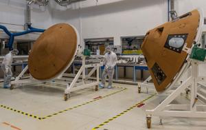 Osłony termiczne lądownika Schiaparelli / Credit: Airbus D&S