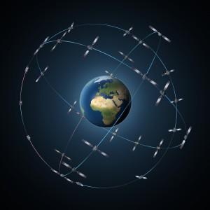 Docelowa konstelacja 30 satelitów Galileo / Credit: ESA-P. Carril