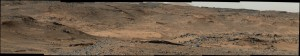 Widok na Mt Sharp podczas Sol 744 / Credits - NASA/JPL-Caltech/MSSS