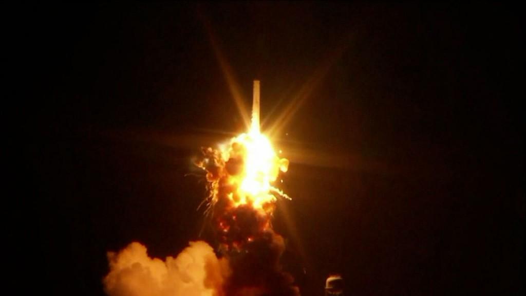 Eksplozja rakiety Antares-130, 28 października 2014