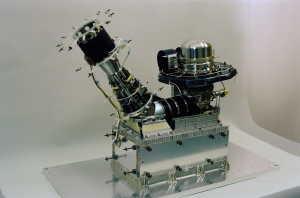 Spektrometr DFMS (Double Focus Mass Spectrometer) instrumentu ROSINA (sonda Rosetta)