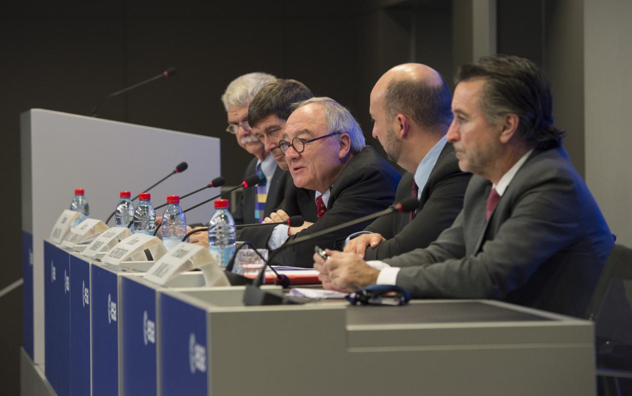 Konferencja prasowa po Radzie Ministerialnej ESA 2014