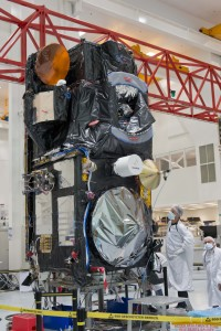 W pełni zintegrowani Sentinel-3A, 4 grudnia 2014, Cannes