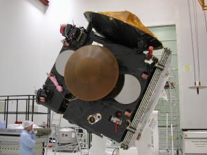 Testy orbitera Mars Express i lądownika Beagle 2 w Bajkonurze, 17 kwietnia 2003