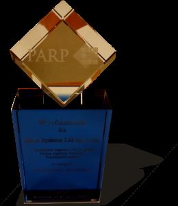 Wyróżnienie PARP dla Hertz Systems / Credit: Hertz Systems