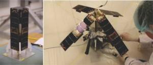 Satelita De-OrbitSail w czasie przygotowań / Źródło: ISRO