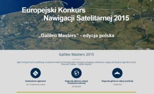 Zrzut strony polskiej edycji konkursu Galileo Masters / Źródło: BDS