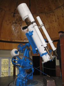 Astrograf Henry'ego Drapera przekazany w 1947 roku do obserwatorium w Piwnicach przez Harvard Observatory / Credit: Margoz, License: Creative Commons Attribution-Share Alike 4.0 International