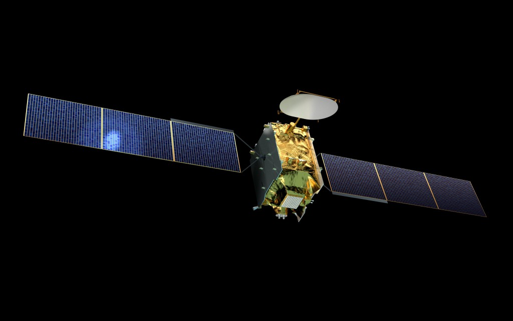 Satelita Quantum - wizualizacja / Credit: Airbus