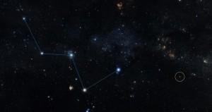 Lokalizacja HD219134 w gwiazdozbiorze Kasjopei / Credits - NASA