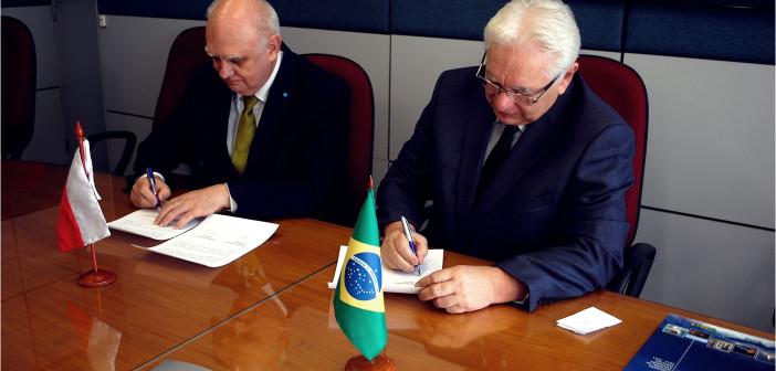 Podpisanie porozumienia o współpracy między POLSA a AEB, 22 września 2015 / Credit: AEB