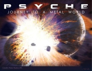 Grafika misji Psyche / Credits - Peter Rubin / JPL-Caltech