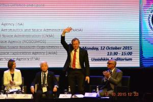 Johan Dietrich Woerner, nowy szef ESA / Credits - Michał Moroz, Blue Dot Solutions