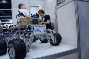 Łazik zbudowany przez zespół LEM Mars Rover / Źródło: LEM Mars Rover