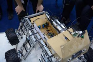 Łazik zespołu  NEX Robotics/ Źródło: LEM Mars Rover