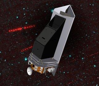 Grafika przedstawiająca teleskop NEOCam / Credits - NASA