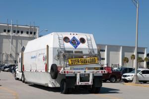 Moduł serwisowy dla misji OA-4 dostarczony do Kennedy Space Center / Źródło: Orbital ATK