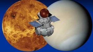 Wizja artystyczna sondy Wenera-D / Źródło: NASA/IKI/David Senske