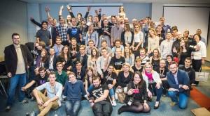 Uczestnicy i organizatorzy Startup Weekend Space Gdansk / Źródło: Maciej Roszkowski