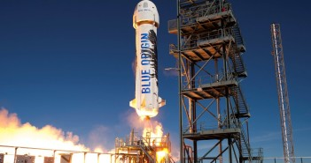 Start rakiety New Shepard - 22 stycznia 2016 / Credits - Blue Origin