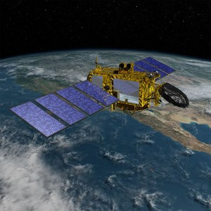 Wizualizacja satelity Jason-3 / Credits - NASA