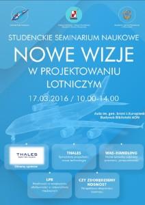 Plakat seminarium / Źródło: Aleksandra Śliwińska