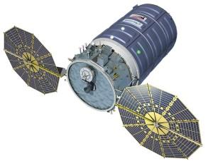Automatyczny statek transportowy Cyngus (enhanced) / Credit: Orbital ATK