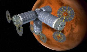 Habitat Orbitala ATK to zestaw kilku używanych obecnie statków Cygnus (Credits: Orbital ATK).